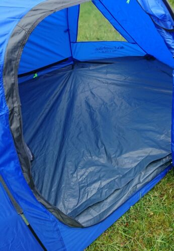 & Eurohike Tay Deluxe 2 Man Tent Camping Outdoor Shelter MBL Blue | eBay