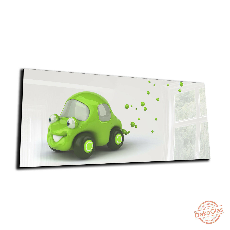 DEKOGLAS Magnettafel  Auto  125x50 Glas Magnet Wand Tafel Weißboard Memoboard