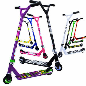 Stunt kick scooter adult kids fixed bar 360 degree push for Barre fixe enfant
