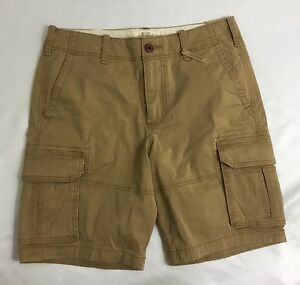 2fff9f358cdb Hollister Classic Cargo Shorts Hits At The Knee Khaki Size 31