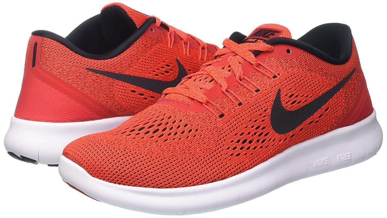 New Nike Free RN Men's Running Training shoes University Red 831508 600