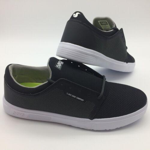 """DVS Men/'s Shoes /""""STRATOS/_LT+/"""" BLK//CHAR//MESH"""