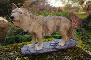 P821-976 Figurine Statue Loup Louve Animal Esyz8koo-07232935-862544188