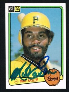 Mike-Easler-221-signed-autograph-auto-1983-Donruss-Baseball-Trading-Card