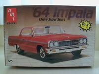 Amt / Ertl (1964) '64 Chevy Impala Ss / Super Sport (2 'n 1) Model Kit Sealed