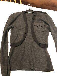 noir Top 2005 Sz et Collection 38 Balenciaga gris militaire wOIx7E7Rq