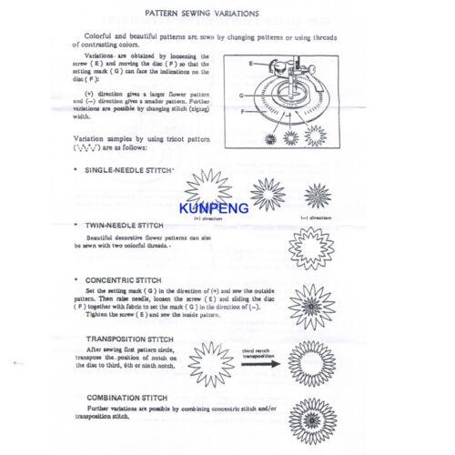 350PE #CY-3700B-NEW Flower Circles Stitch FITS for BERNINA NEW STYLE Artista165