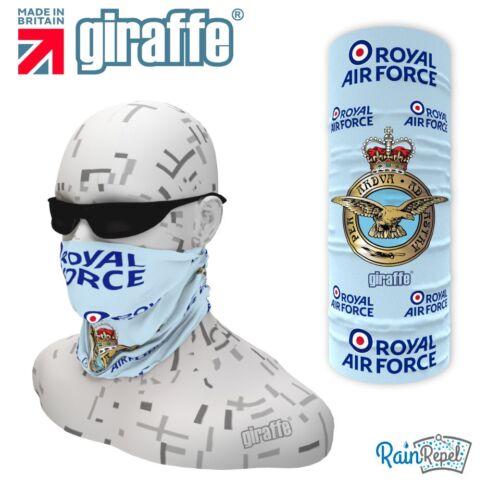 RAF blue-392 multifonctionnel couvre-chefs Neckwarmer Snood Bandana Bandeau Tube