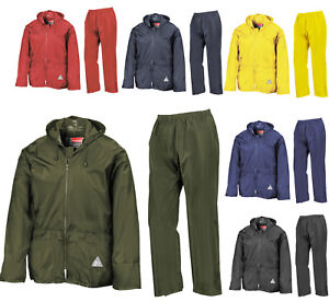d503119b0 Image is loading WEATHERGUARD-ADULTS-WATERPROOF-JACKET-TROUSERS-AND-CARRY- BAG-