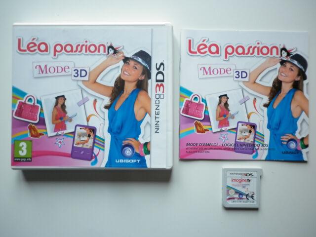 Léa Passion Mode 3D Jeu Vidéo Nintendo 3DS