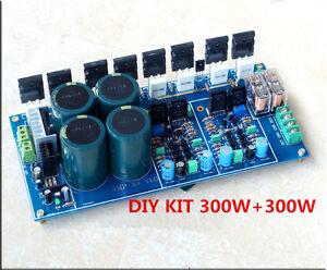 diy kit hifi fully symmetrical dual parallel discrete power amplifier board 600w ebay. Black Bedroom Furniture Sets. Home Design Ideas