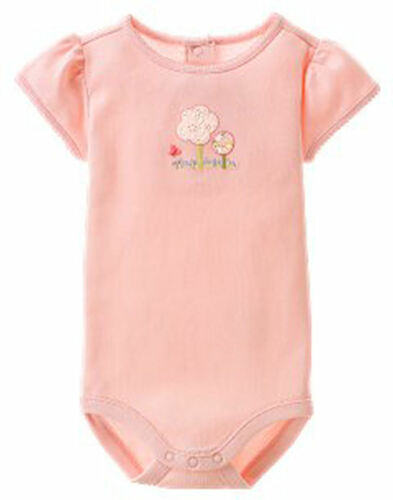 NWT GYMBOREE Baby Girl Bodysuit Tee Top Shirt NEW Body Suit Short Sleeve