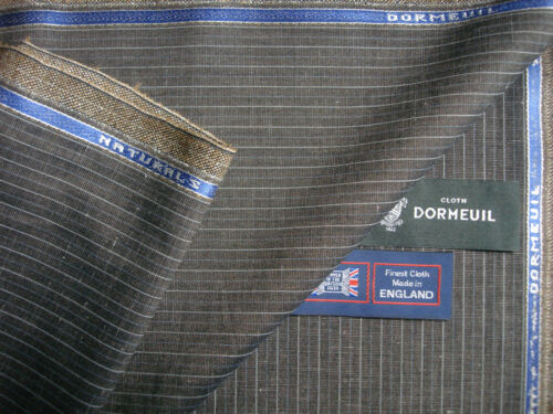 20/% LINEN,15/%WOOL,15/% MOHAIR SUITING//JACKETING FABRIC-2.0 m DORMEUIL 50/% COTTON