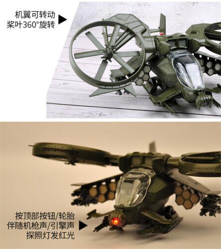 Avatar RDA Scorpion Gunship Figure Alloy Helicopter 1:48 Military Model Gift