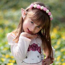 Elf Ear Earphones Costume Cosplay Spirit Fairy HIFI Earbuds For Smartphone MP3/4