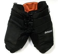 New CCM Gatekeeper Pro Stock ice hockey goalie pants black senior XL 36 38 large