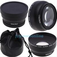 52MM 0.45x Fisheye Wide Angle Macro Lens for Nikon D70 D3200 D3100 D5200 D5100
