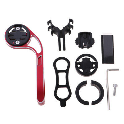 Cycling Handlebar Extension Rack Camera Stopwatch GPS Support Mount Black