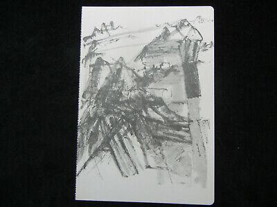 Joseph Beuys Granolithographie 1975 Motiv 16