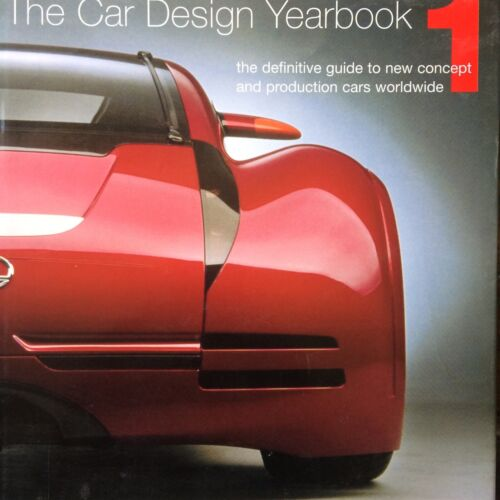 1 of 1 - The Car Design Yearbook 1: Definitive Guide to New Concept,Production Merrell