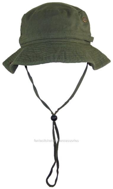 Tropic Hats Summer Floppy Bucket Cap W Snap Up Sides  906 Olive Extra 31eb6ccaba2d