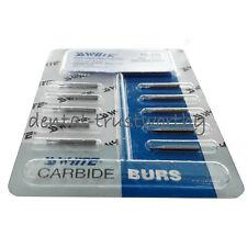 Hot 10pcs Ss White Dental Tungsten Carbide Burs Fg 330 For High Speed Handpiece