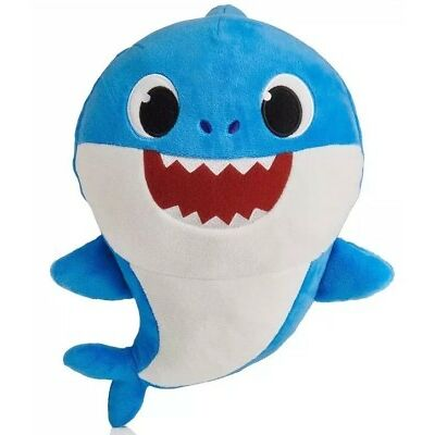 Pinkfong Baby Shark Official English Version Song Doll Blue Daddy Shark PREORDER