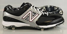 New in Box New Balance MB4040DP Baseball Metal Spike BLACK/GREY Mens US 16 2E