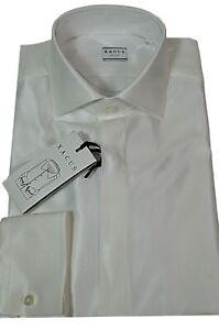 half off e4999 f5eae Dettagli su XACUS Camicia Uomo Modello 21104001 Vestibilita' slim tessuto  lucido