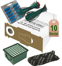 Filtertüten Hepa Filter Bürsten Duft geeignet für Vorwerk Kobold VK 130 VK 131