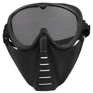 Tactique Airsoft Integral Oreille De Protection Masques Maille