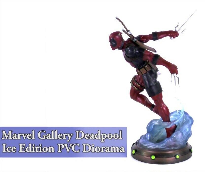 DEADPOOL ICE Edition Limited Exclusive Diamond Select Marvel Gallery Statue NEW