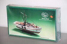 Vintage Lindberg No. 7223. Classic Shrimp Boat Model Kit Scale 1/60
