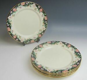 Lot-of-5-Lenox-China-PRAIRE-BLOSSOMS-Bread-amp-Butter-Plates-EXCELLENT
