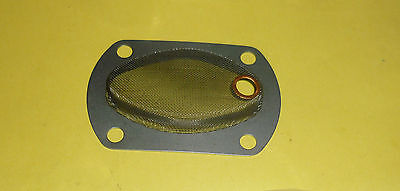 TRIUMPH PRE UNIT MODEL BONNEVILLE T120 TR6 6T ENGINE SUMP FILTER 70-0529 UK MADE