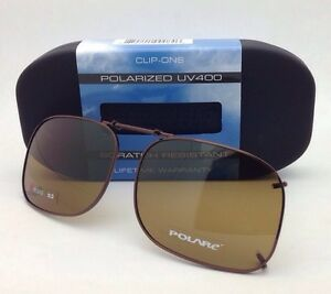 872332313d Image is loading COCOONS-Amber-Polarized-Sunglasses-Eyeglasses-Over-Rx-Clip-