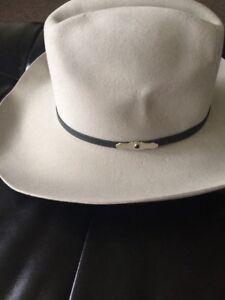 Original Stetson Mist Pony Express Felt Hat 7 1 4 WW176 Angleton  f5eab1b8b33