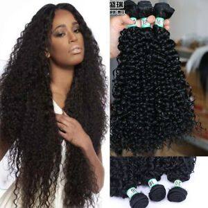 Mixed-Length-Brazilian-Kinky-Curly-Synthetic-Hair-Extension-Weaving-Bundles