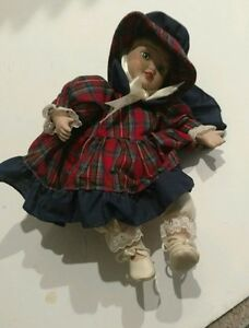 Vintage Anco Wind Up Musical Doll 1993