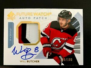 2017-18-SP-Authentic-Limited-Patch-Autograph-Will-Butcher-FW-100