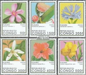 Fast Deliver Congo Never Hinged 1996 Flourishing Pla 1468-1473 Unmounted Mint brazzaville