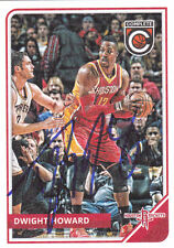 DWIGHT HOWARD HOUSTON ROCKETS SIGNED CARD LOS ANGELES LAKERS ORLANDO MAGIC
