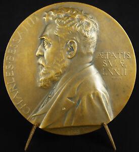 100% Vrai Médaille A La Belle Jardinère à Charles Bessand Sc Chaplain 1902 Magasin Medal