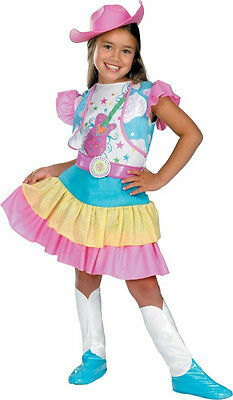 Rodeo Sweetheart Cowgirl Country Western Fancy Dress Halloween Child Costume