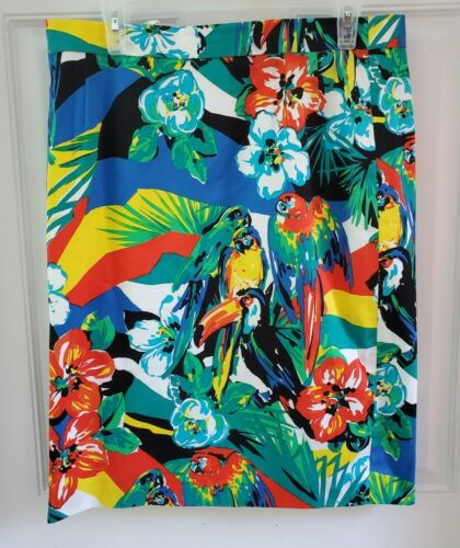 Escada Margaretha Ley Bright Parrot  Floral Pencil