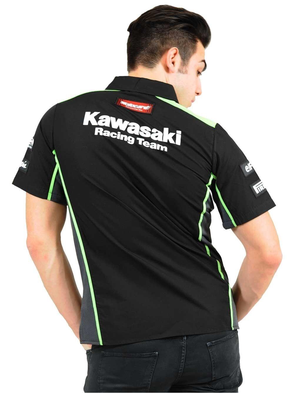 Official Kawasaki Motocard Team Race  Shirt Shirt Shirt - 16 91501 | Verschiedene Stile und Stile  968266
