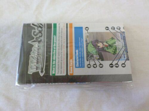 Bushiroad Weiss Schwarz Anime Card Game English Starter Pack Set Brand New
