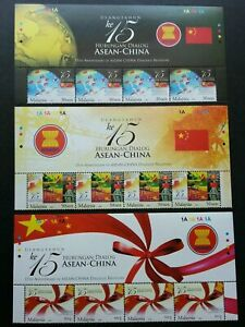 SJ-15th-Anniv-of-Asean-China-dialogue-Relation-Malaysia-2006-stamp-title-MNH