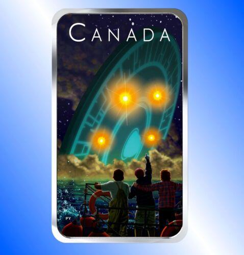 Harbor Shag Harbour Silver Coin-UFO Incident 2019-Canada Unexplained Phenomena