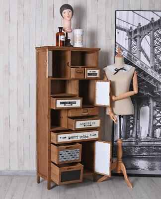 Vintage Kommode Loft Möbel Apothekerschrank Industrial Schrank Hochkommode Antik